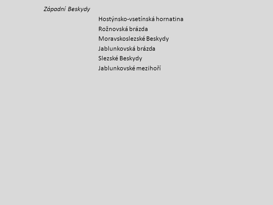 STŘEDOPOLSKÁ NÍŽINA Středopolské nížiny – subprovincie Slezská nížina Opavská pahorkatina ZÁPADOPANONSKÁ PÁNEV Vídeňská pánev - subprovincie Jihomoravská pánev Dolnomoravský úval