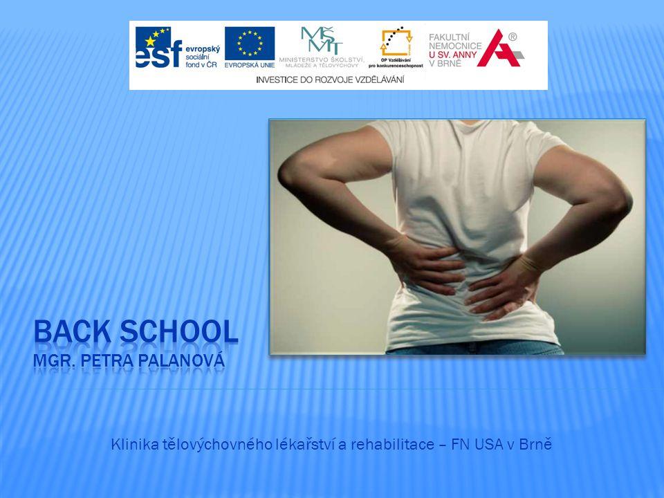Klinika tělovýchovného lékařství a rehabilitace – FN USA v Brně