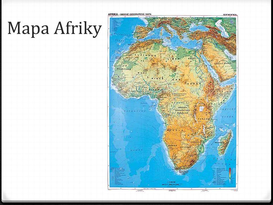 Severní Afrika 0 Severní Afrika, která je od zbytku afrického kontinentu oddělena pouští Sahara představuje nejsevernější část tohoto kontinentu.