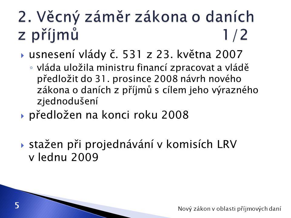  usnesení vlády č. 531 z 23.