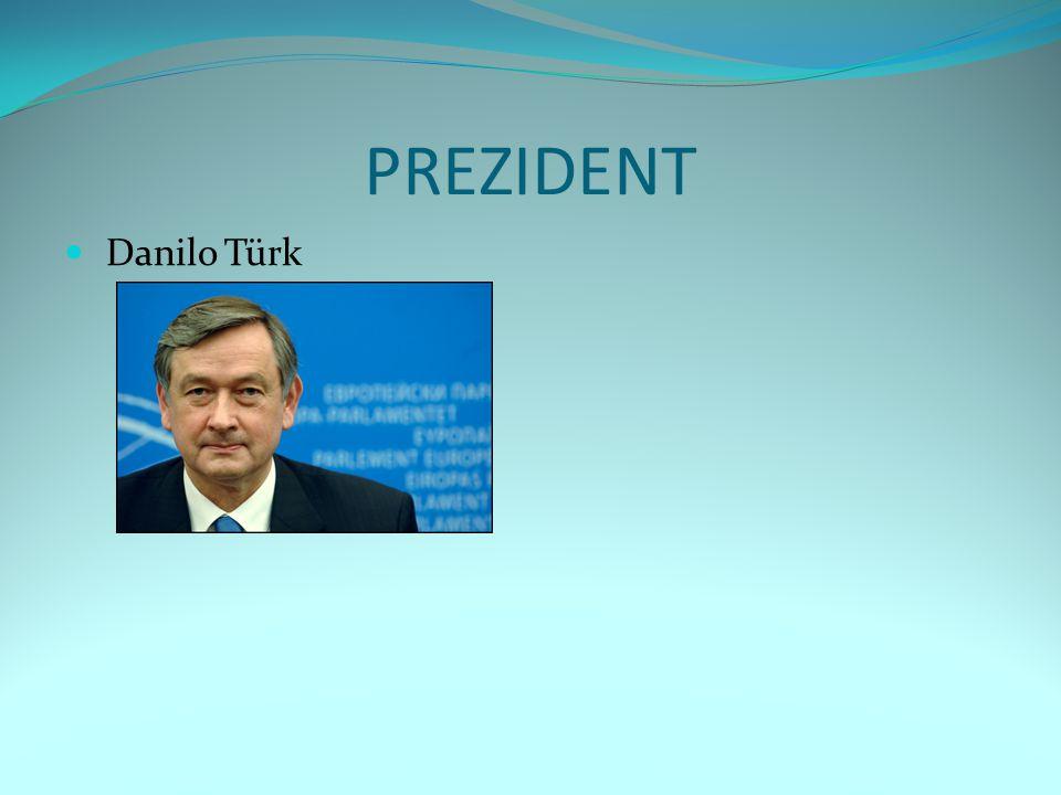 PREZIDENT Danilo Türk
