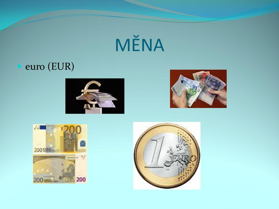 MĚNA euro (EUR)