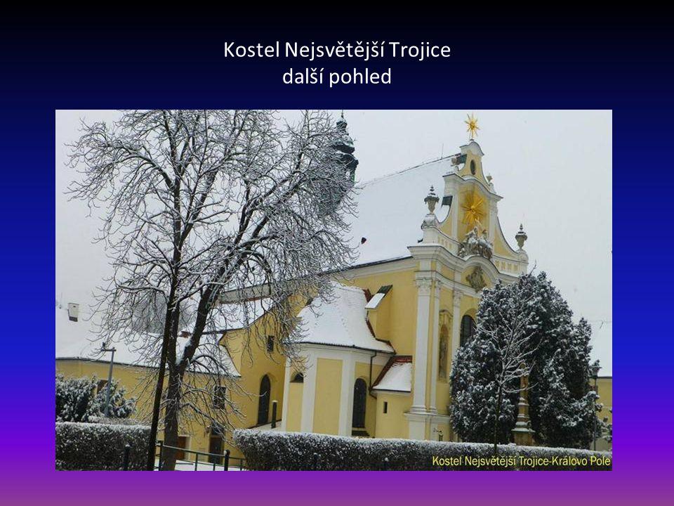 Kostel Nejsvětější Trojice-Královo Pole
