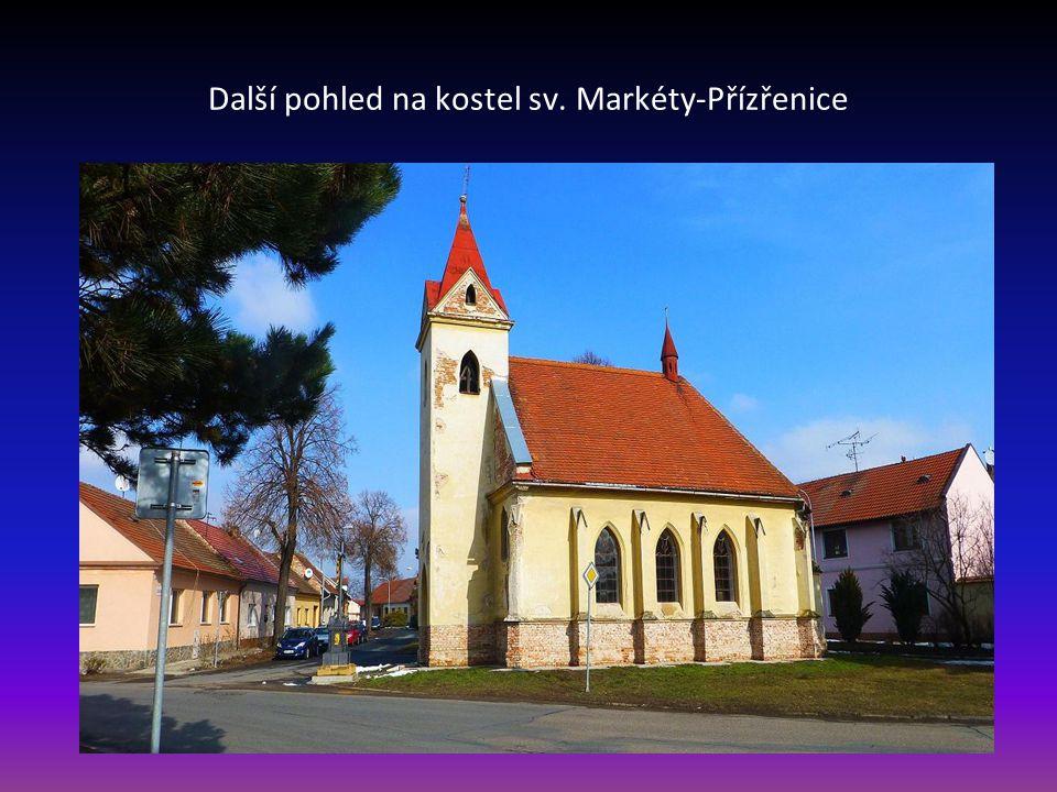 Kostel svaté Markéty –Přízřenice část Brno-jih