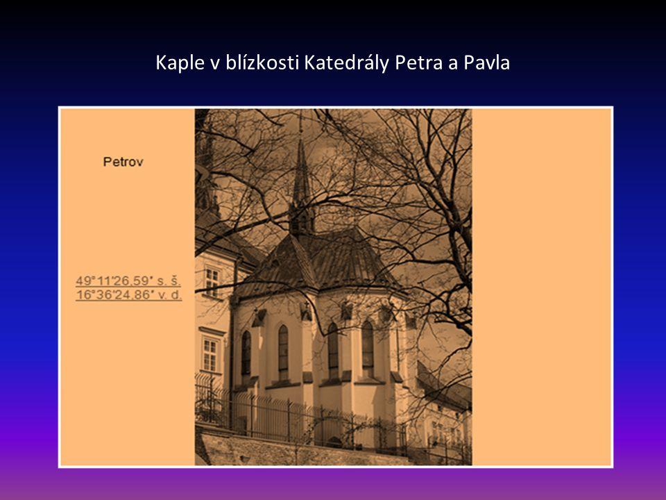 Kostel svatého Vavřince-Řečkovice, boční pohled