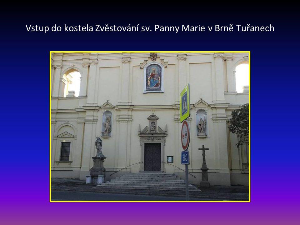 Kostel Zvěstování sv. Panny Marie v Tuřanech