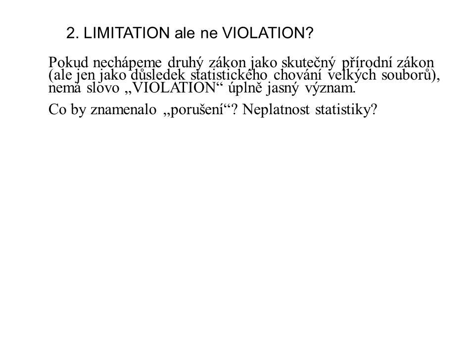 2. LIMITATION ale ne VIOLATION.