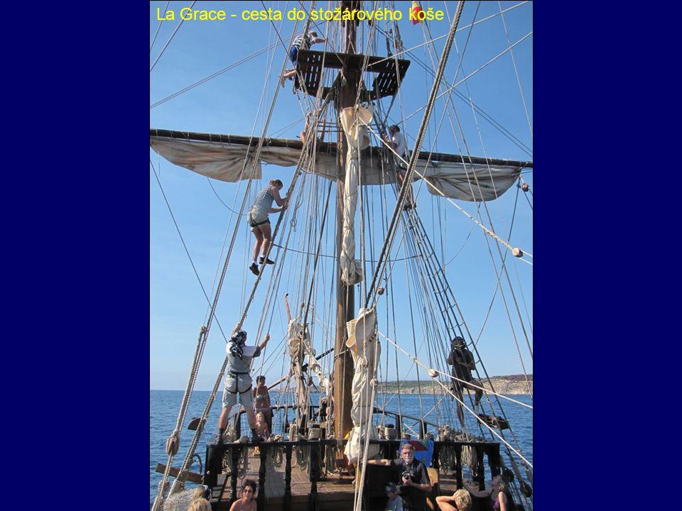La Grace - cesta do stožárového koše