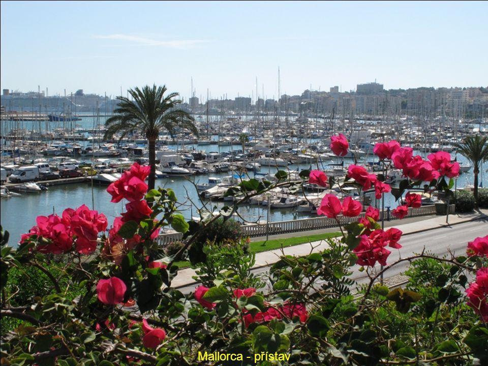 Mallorca- přístav