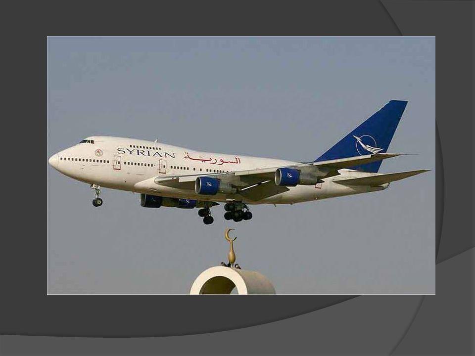 Damašek - letištní hala