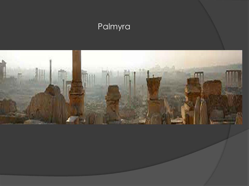 Palmyra – noční snímek