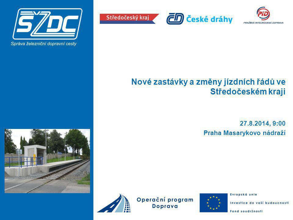 Zastávka Praha-Kačerov: Akce již v realizaci od 1.
