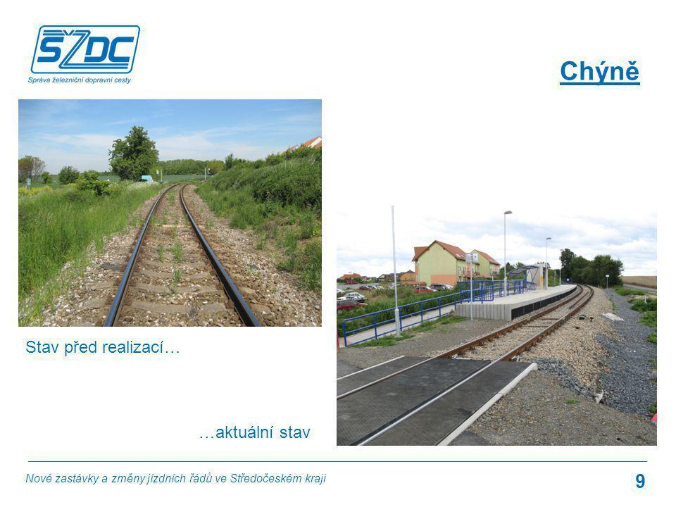 Zájem o cestování na tratích Praha – Nučice a Praha – Hostivice – Rudná u Prahy v uplynulém desetiletí podstatně vzrostl.