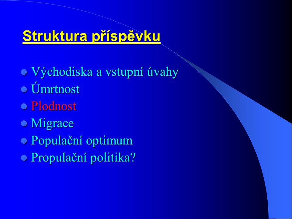 """Lokální závěry /úmrtnost/ – východiska pro """"politiky"""" - 1: Lokální závěry /úmrtnost/ – východiska pro """"politiky"""" - 1: Úmrtnost se bude řídit modelem p"""