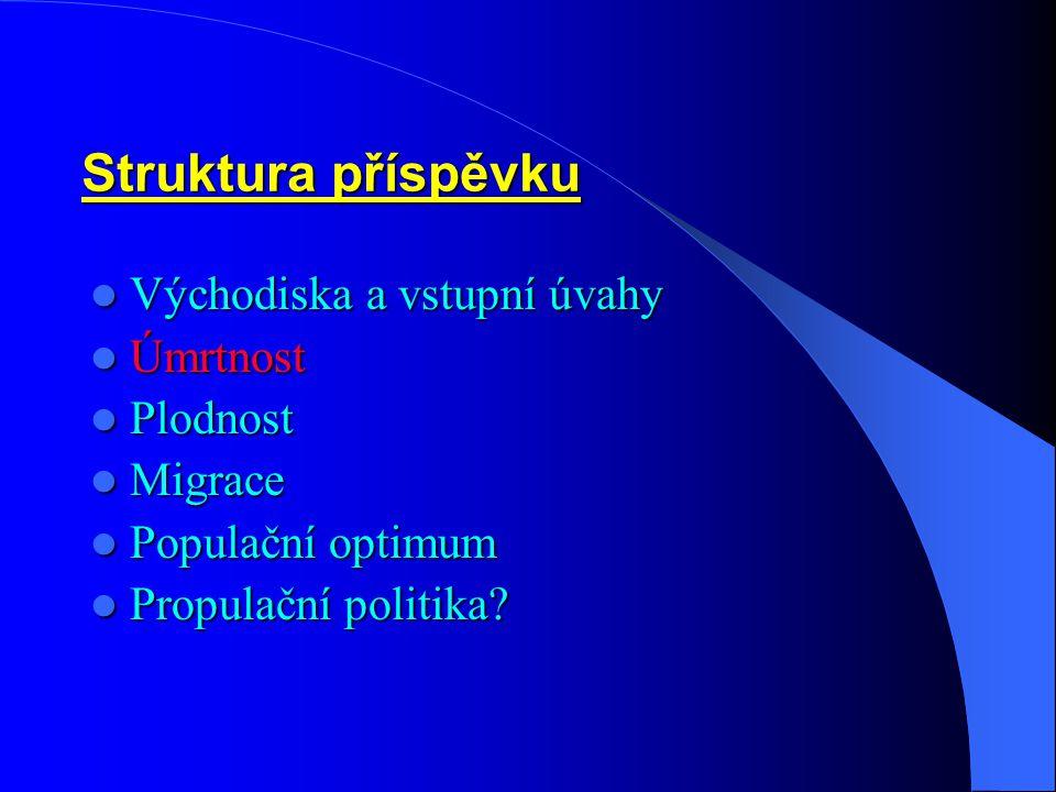 Migrace – 3: Saldo (vnitřní a zahraniční m.) na 1000 obyvatel v krajích ČR, 2002 Zdroj: Pohyb obyvatelstva v ČR v r.2002, ČSÚ