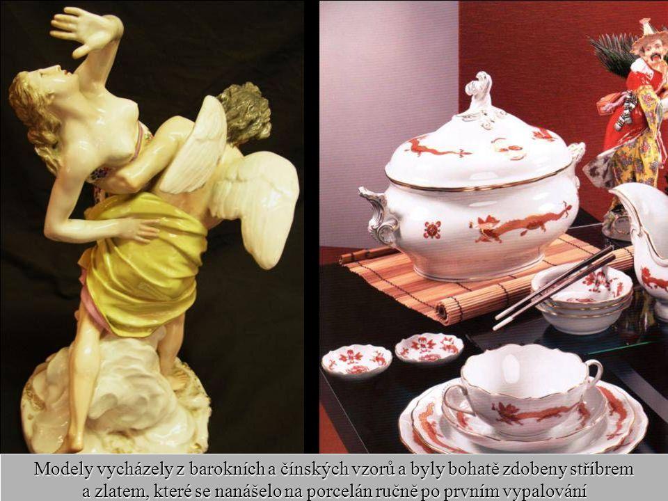 18 Míšeňská manufaktura na výrobu porcelánu už v samých počátcích přitáhla umělce z nejrůznějších částí Evropy