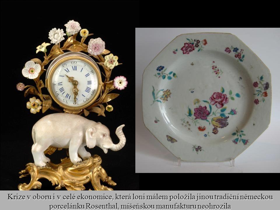 25 Míšeňský porcelán si objednávali panovníci z celé Evropy. Milovala ho ruská carevna Kateřina Veliká i britští panovníci, má jej i americký preziden