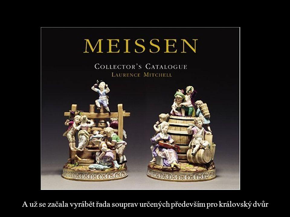 49 Až sochař a modelář J. J. Kaendler - mistr monumentální i drobné plastiky, dokázal z porcelánu vymodelovat originální a osobité rokokové figurky