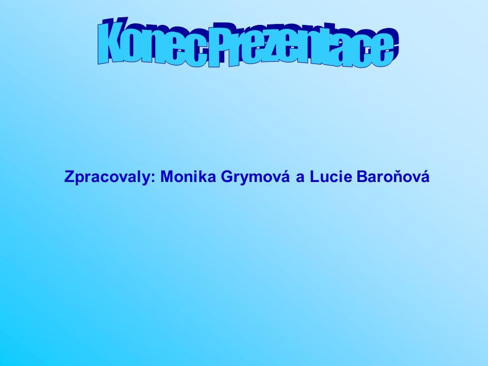 Zpracovaly: Monika Grymová a Lucie Baroňová