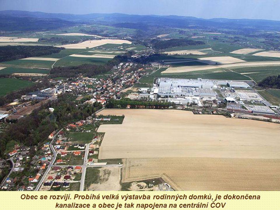 Je tady totiž jeden ze závodů mladoboleslavské automobilky Je tady totiž jeden ze závodů mladoboleslavské automobilky