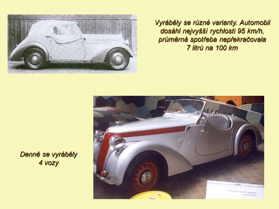 V roce 1937 se začíná vyrábět pod názvem Jawa Minor 600 vůz vlastní konstrukce.