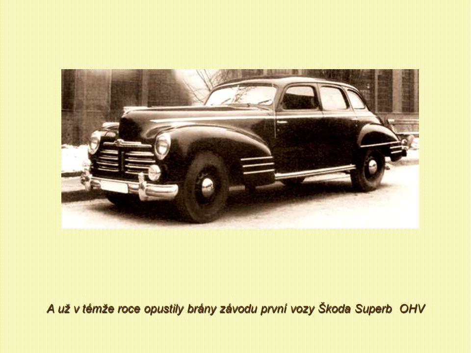 Po válce v roce 1947 došlo k jednání se závodem AZNP Mladá Boleslav. Výsledkem byla dohoda o výrobě vozů značky Škoda v Kvasinách