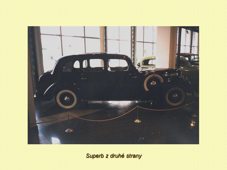 A už v témže roce opustily brány závodu první vozy Škoda Superb OHV