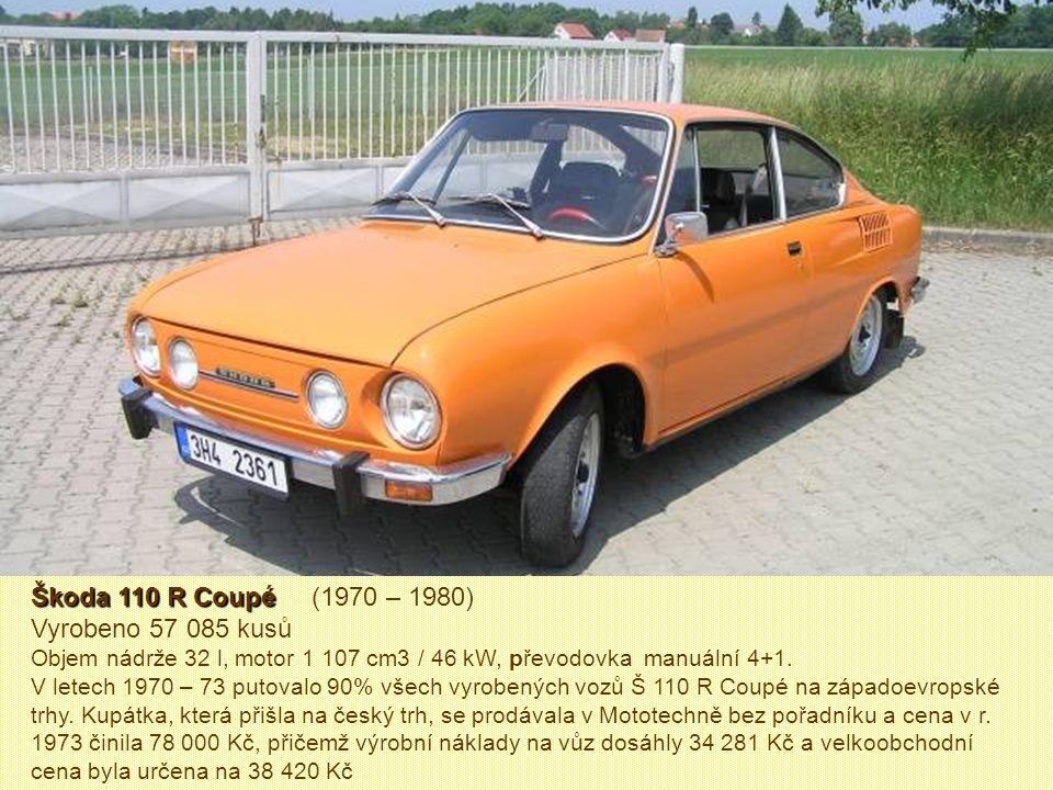 Škoda Octavia Combi Škoda Octavia Combi (1961 – 1971) Vyrobeno 50 207 kusů. Šlo o dvouprostorovou dvoudveřovou karoserii se zadní výklopnou stěnou, dě