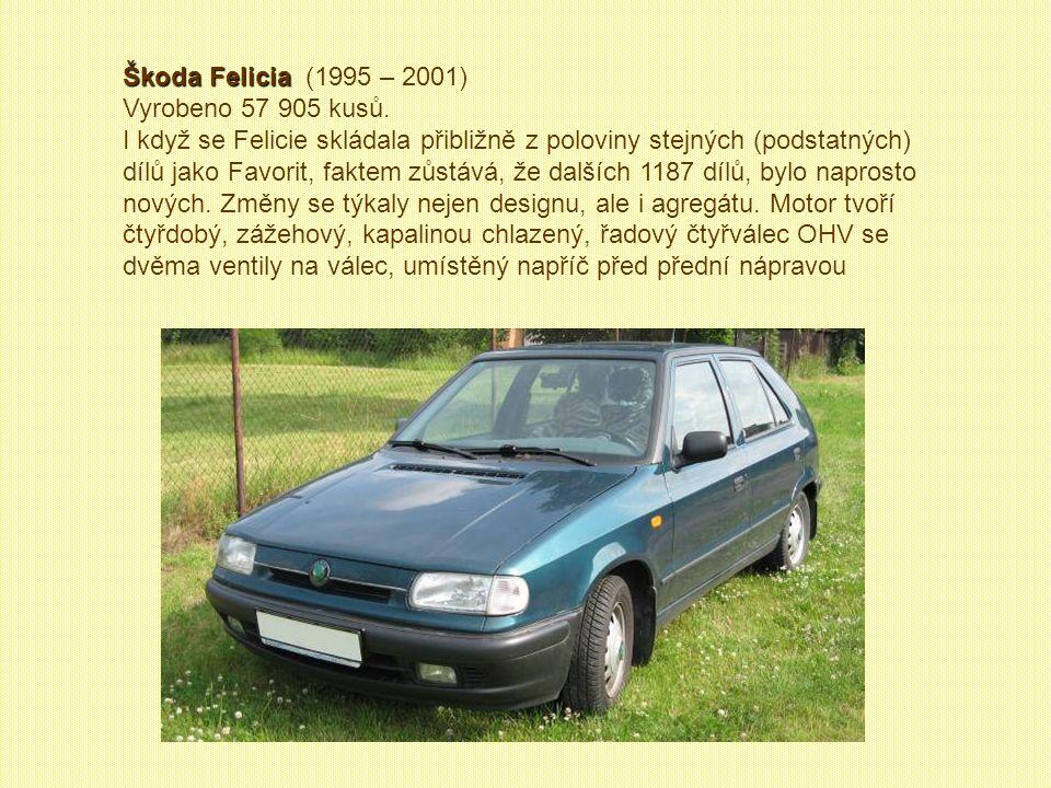 Škoda Forman sanitní Škoda Forman sanitní (1993 – 1995) Vyrobeno 109 kusů