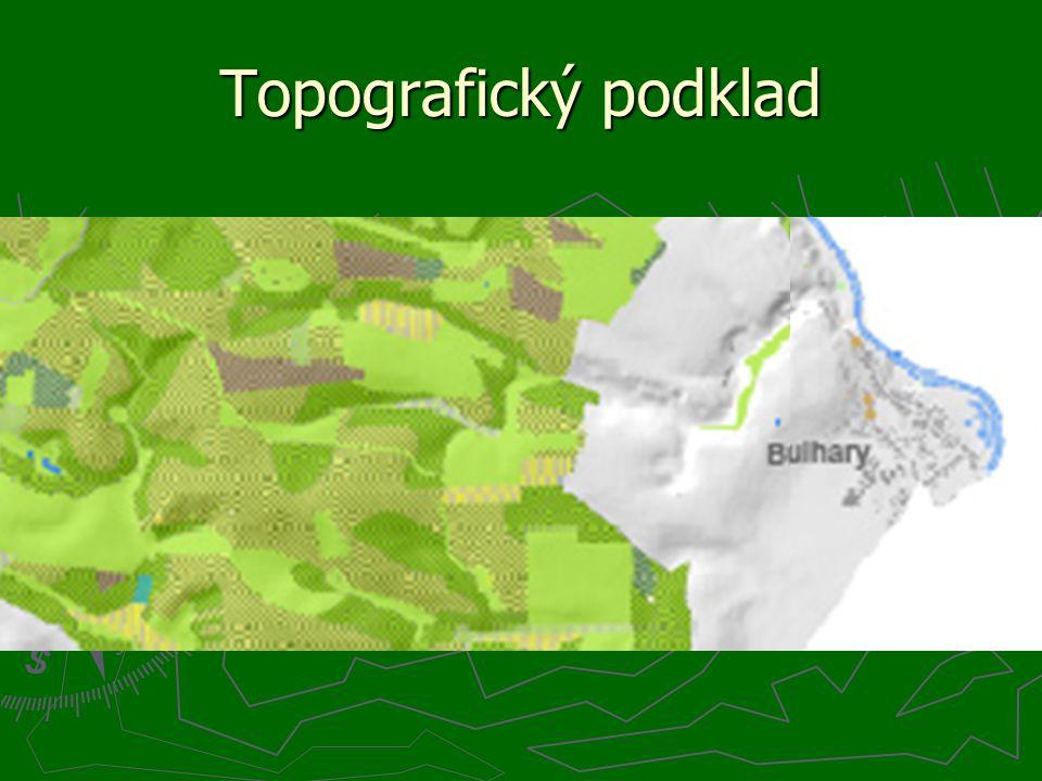 Topografický podklad