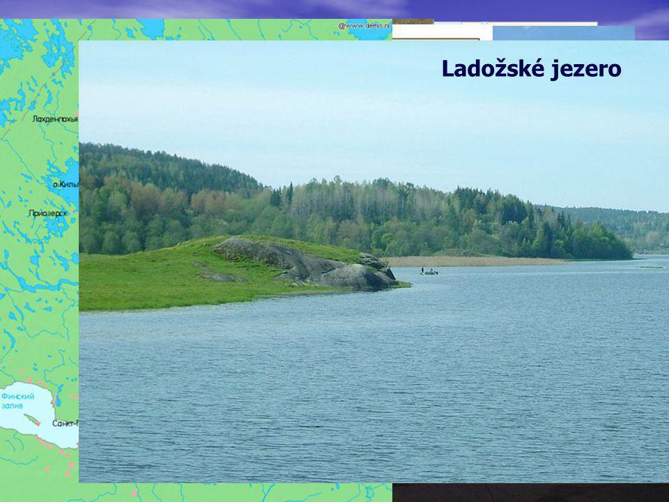 Východoevropská rovina proláklina Kaspického moře Ukrajinské Karpaty– Hoverla – 2061 m.n.m. Volha Ladožské jezero