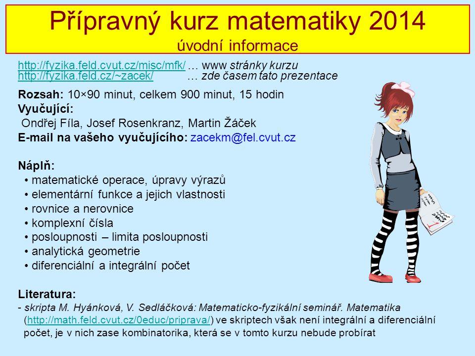 MF seminář 2010/2011 - úvod Rozsah: 10×90 minut, celkem 900 minut, 15 hodin Vyučující: Ondřej Fíla, Josef Rosenkranz, Martin Žáček E-mail na vašeho vy
