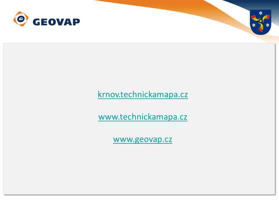 krnov.technickamapa.cz www.technickamapa.cz www.geovap.cz