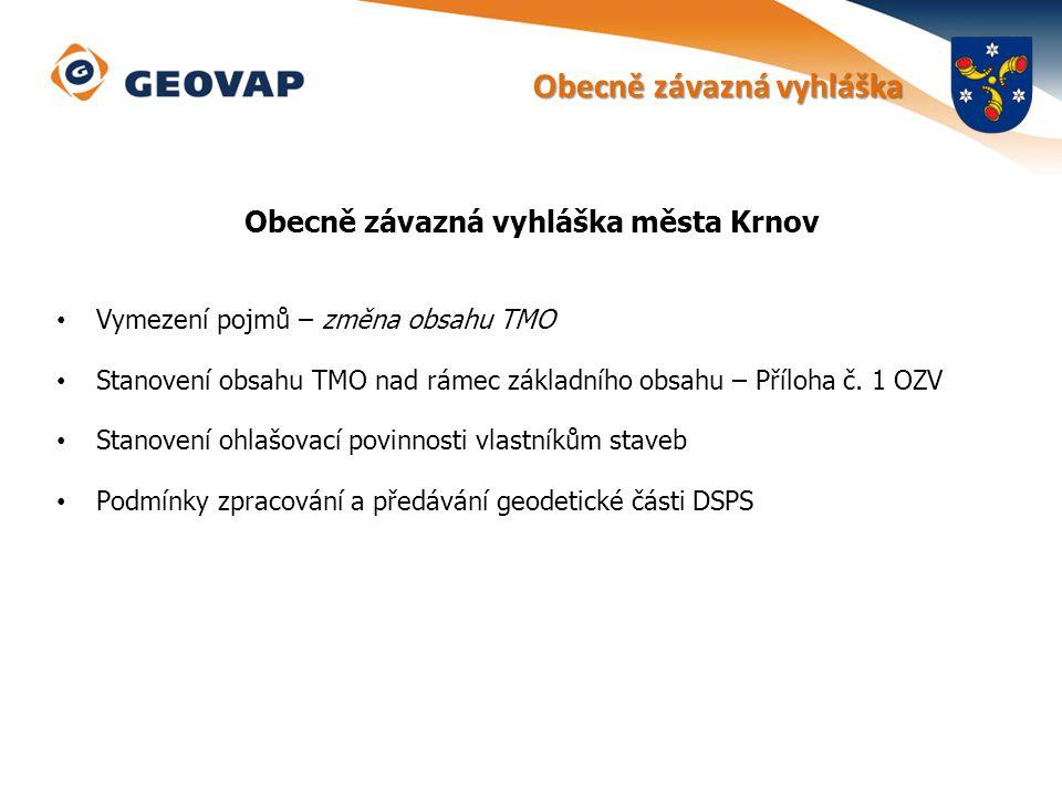 krnov.technickamapa.cz Zakázkový systém JTMO