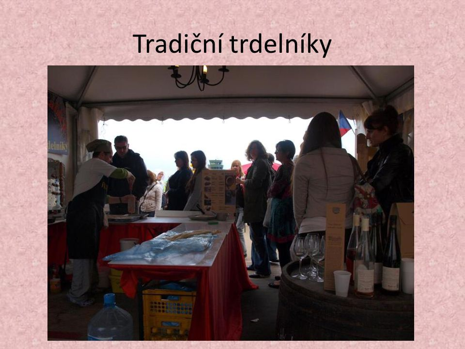 Tradiční trdelníky