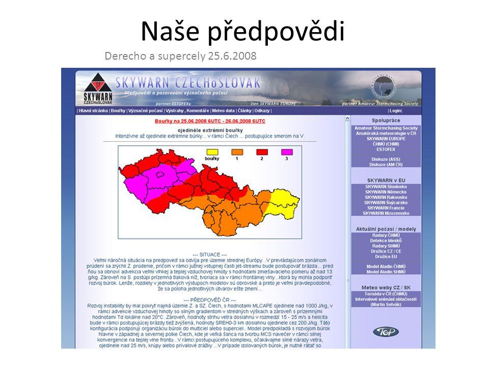 Případová studie(Púčik, Rýva, Lacinová) zaměřující se na derecho 25.6.2008, prezentování v rámci mezinárodní konference ECSS2009 pořádané na podzim v německém Landshutu.
