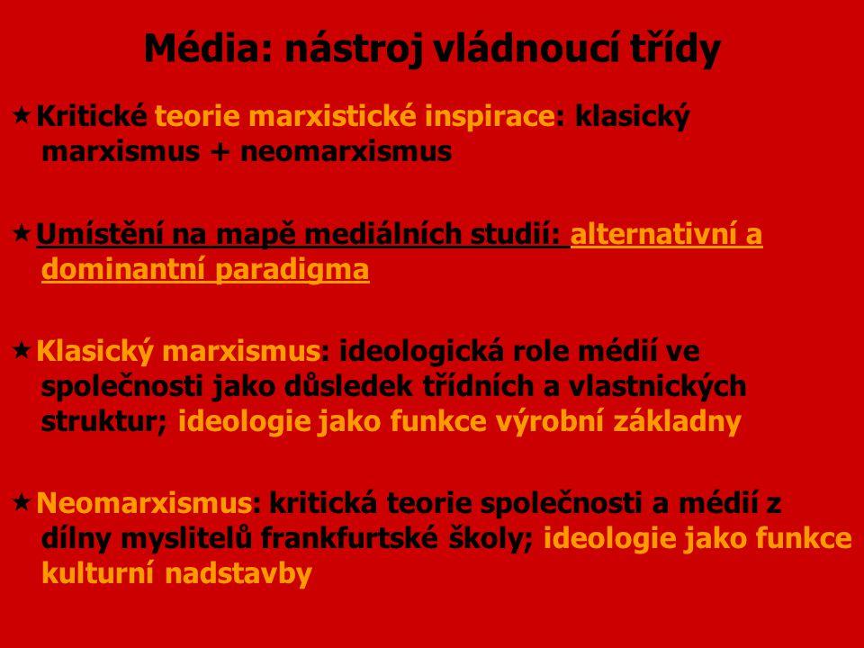 Je marxismus mrtev?  Není marxismus jako marxismus:  marxismus jako sociologická, filozofická a ekonomická teorie společnosti  marxismus jako revol