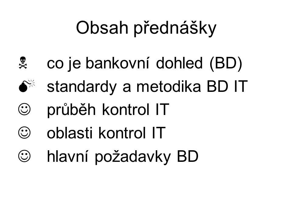 Bankovní dohled IT Petr Marek, ČNB petr.marek@cnb.cz