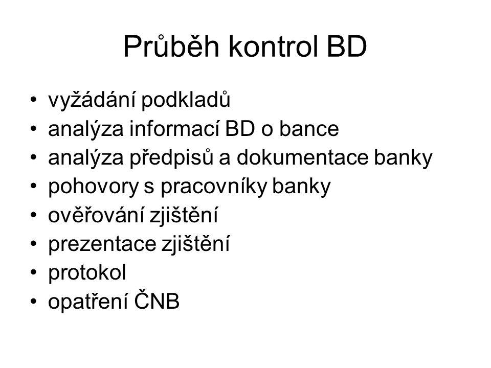 Metodika BD IT vnitřní metodika kontrol IT –ve vývoji, rozpracovává a doplňuje se –základy: BS 7799 (ISO/IEC 17799/2000) CobiT – Control Objectives fo