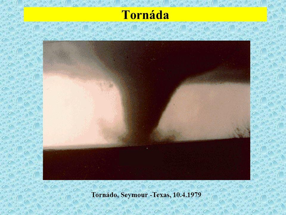 Tornáda Tornádo, Seymour -Texas, 10.4.1979