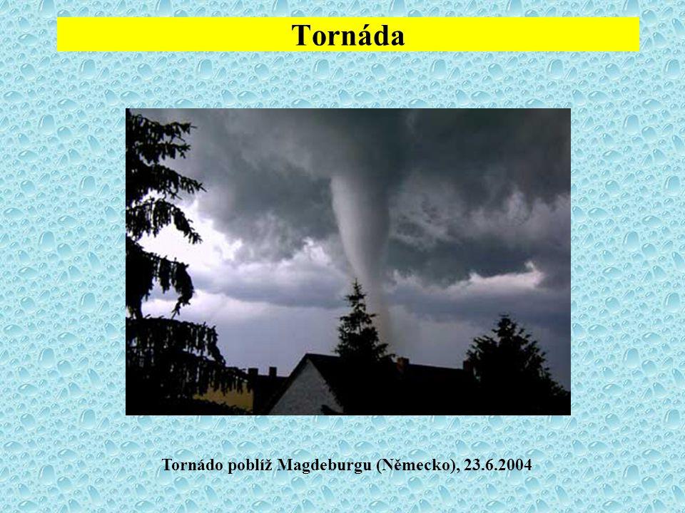 Tornáda Tornádo poblíž Magdeburgu (Německo), 23.6.2004