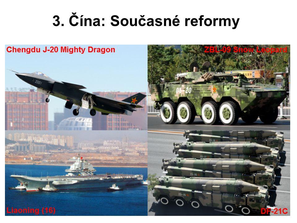 3. Čína: Současné reformy