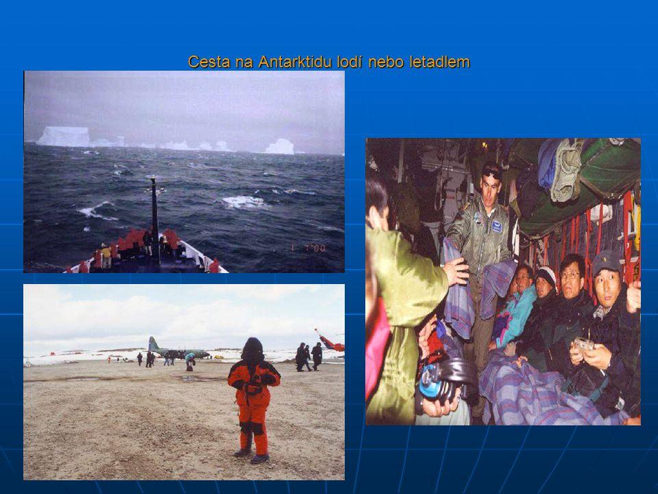 Cesta na Antarktidu lodí nebo letadlem