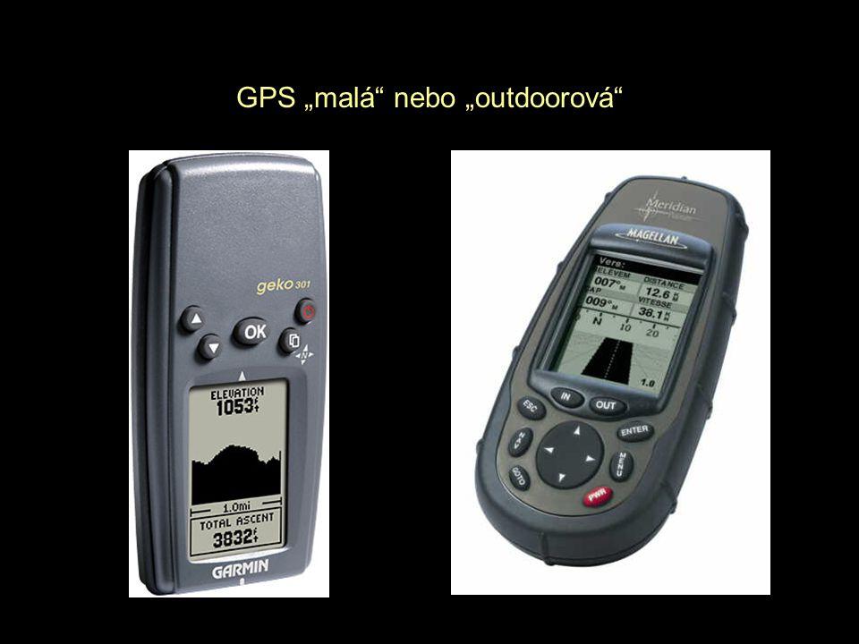 """GPS """"malá"""" nebo """"outdoorová"""""""