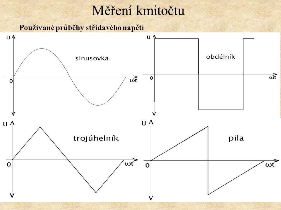Měření kmitočtu Vibrační (jazýčkový) kmitoměr Popis funkce Přístroj pracuje na principu mechanické rezonance jazýčku s frekvencí magnetoelektrického pole cívky, vybuzeného měřeným střídavým napětím.