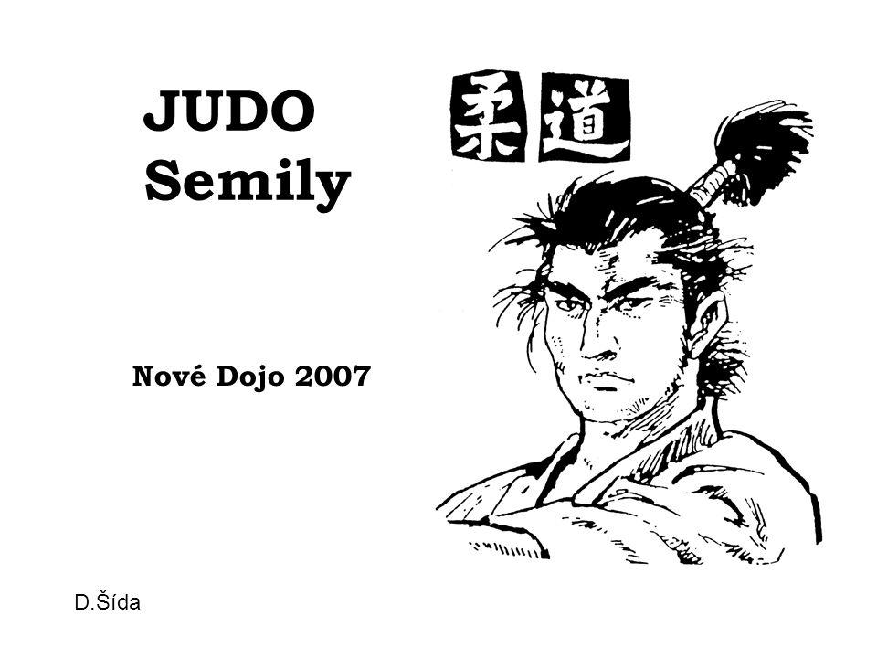 JUDO Semily Nové Dojo 2007 D.Šída