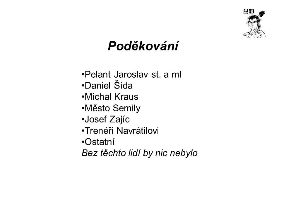 Poděkování Pelant Jaroslav st.