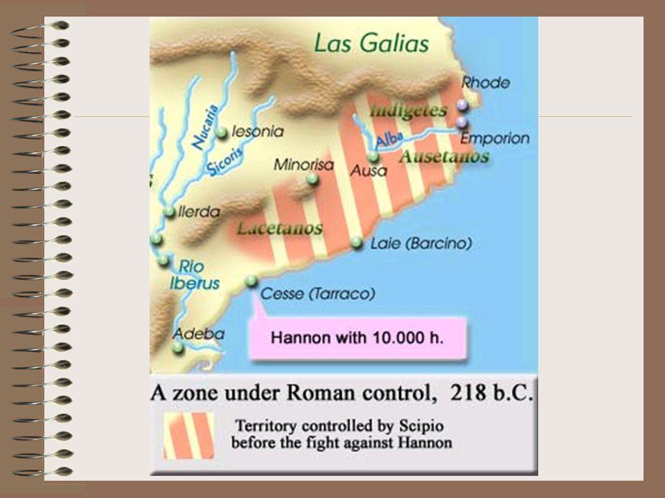 Druhá válka (221-202) Reorganizace armády – budování malých pohyblivých jednotek (meče - boj zblízka) Diplomatická hranice sfér vlivu – řeka Iberus 219 Hanibal dobyl Saguntum (poblíž Iberu) 218 Hanibal zaútočil na Itálii: část vojska poslal do Kartága (vliv na zmatek Ř.) a druhá část se vydala na pochod do Alp 90 tisíc pěšáků, 12 tisíc jezdců, 37 válečných slonů