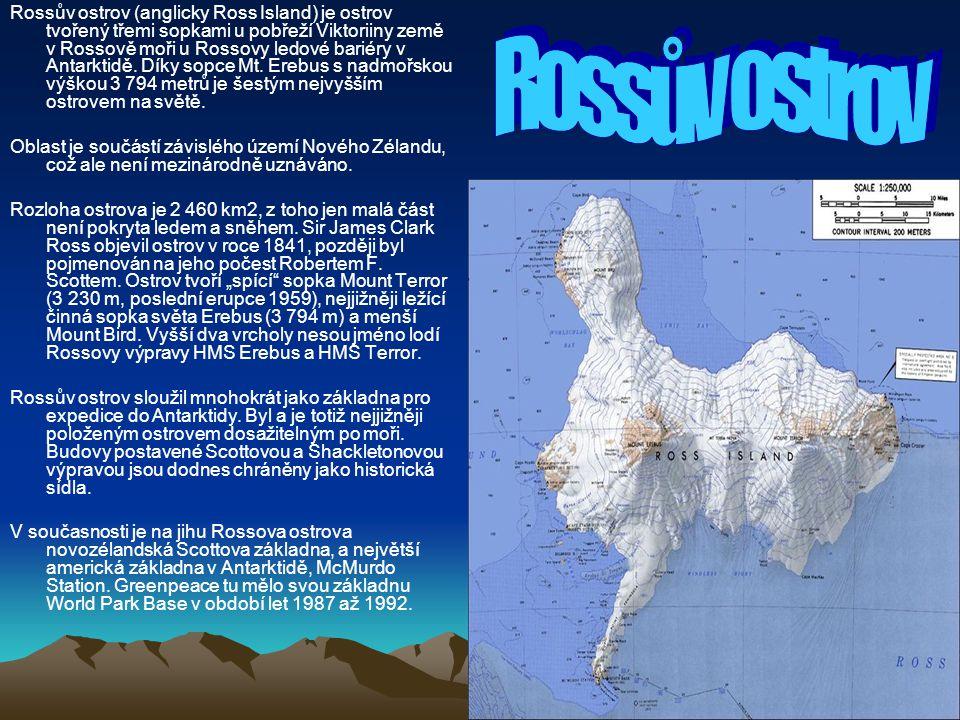 Rossův ostrov (anglicky Ross Island) je ostrov tvořený třemi sopkami u pobřeží Viktoriiny země v Rossově moři u Rossovy ledové bariéry v Antarktidě. D