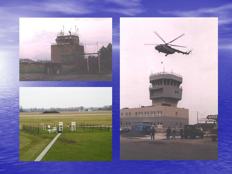 v historii letiště zde působilo mnoho vojenských leteckých útvarů, zejména po 2. světové válce: v historii letiště zde působilo mnoho vojenských letec